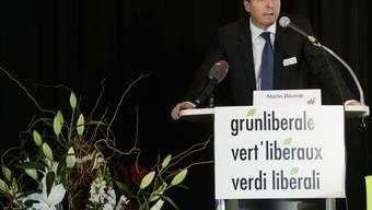 Gibt sich nach der Wahlniederlage kämpferisch: Martin Bäumle, Präsident der Grünliberalen.