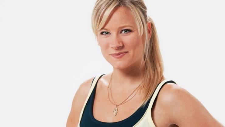 Und sie hats schon wieder getan: Andrea Jansen hat ein drittes Kind geboren. (Bild SRF)