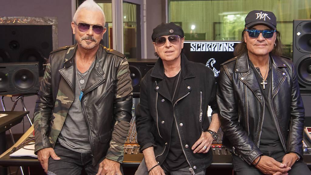 Scorpions kündigen neues Album und Welttournee an