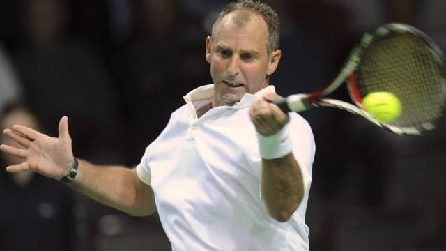 Thomas Muster war bei seinem Comeback auf der ATP-Tour chancenlos