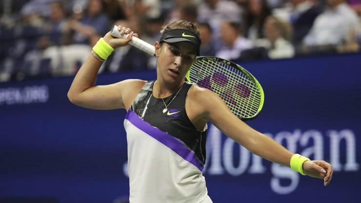 Ausgeschieden im Halbfinale: Belinda Bencic.
