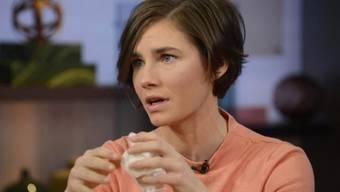 Business-Haarschnitt und seriöser Job: Amanda Knox (Archiv)