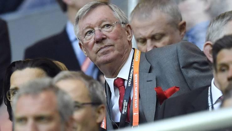 Alex Ferguson gewann als Trainer von Manchester United 38 Trophäen