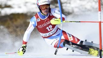Daniel Yule gewann seinen vierten Europacup-Slalom