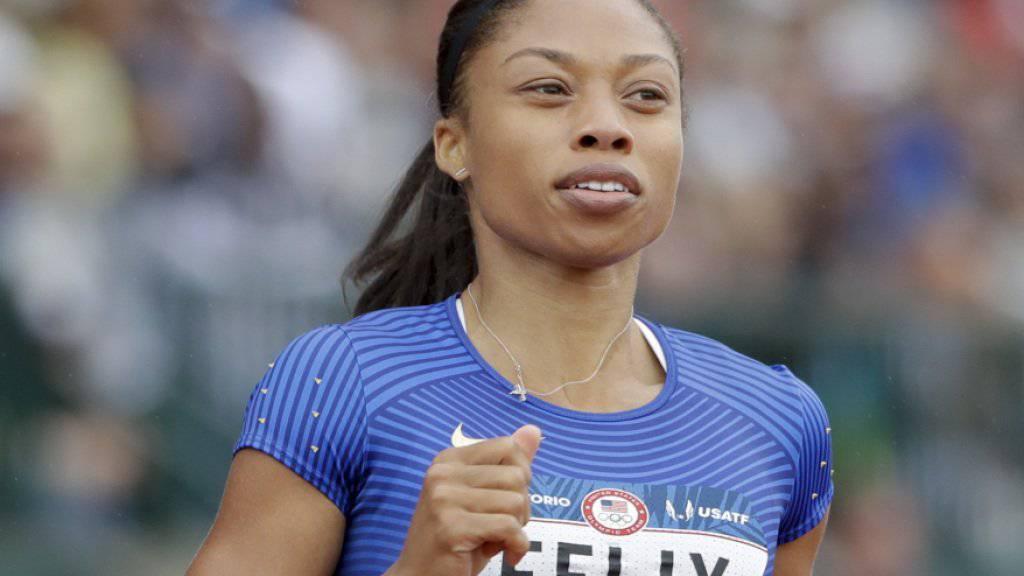Allyson Felix verpasste über 200 m die Qualifikation für Rio