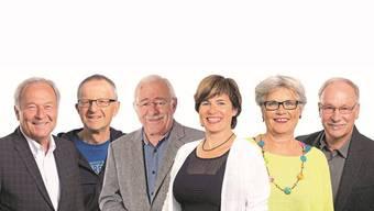 Hermann Fenzel, udolf Moor, Hubert Jenni, Susanne Bucher, Evelyn Gmurczyk und Heinz von Arb.