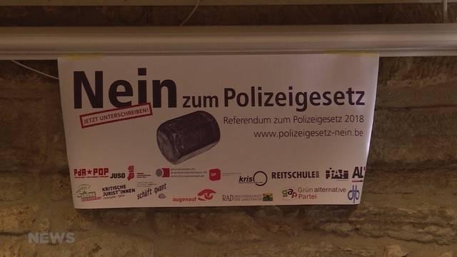 Referendum gegen neues Polizeigesetz