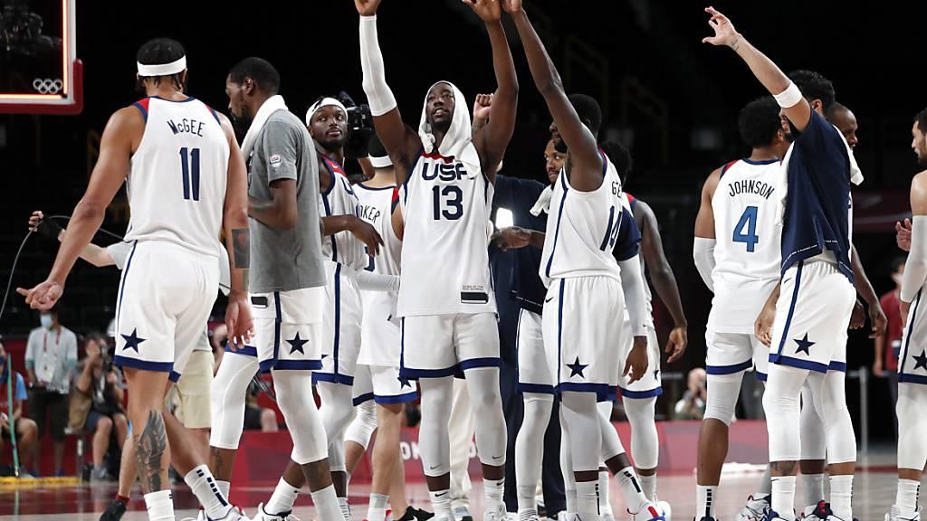 US-Basketball feiert vierten Olympiasieg in Folge