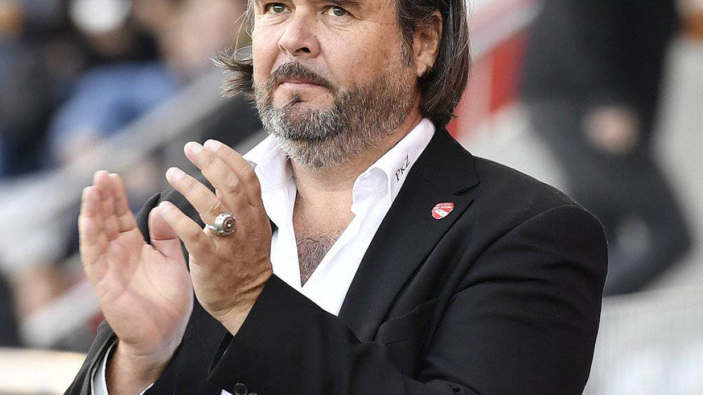 Präsident Markus Lüthi fiebert wie der ganze FC Thun dem Cupfinal am Sonntag in Bern gegen Basel entgegen
