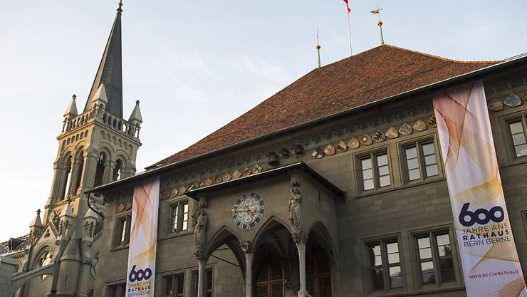 Die reformierten Kirchen Bern-Jura-Solothurn hielten ihre Session im Ratshaus Bern. (Archiv)