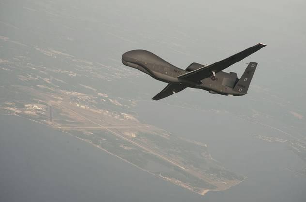 Die Global-Hawk-Drohne kann bis zu 19.8 Kilometer hoch fliegen.
