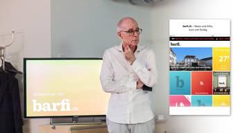 2015 präsentierte Christian Heeb barfi.ch. Jetzt wurde der Konkurs eröffnet.