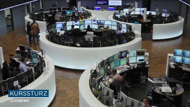 Internationale Börsen auf Talfahrt