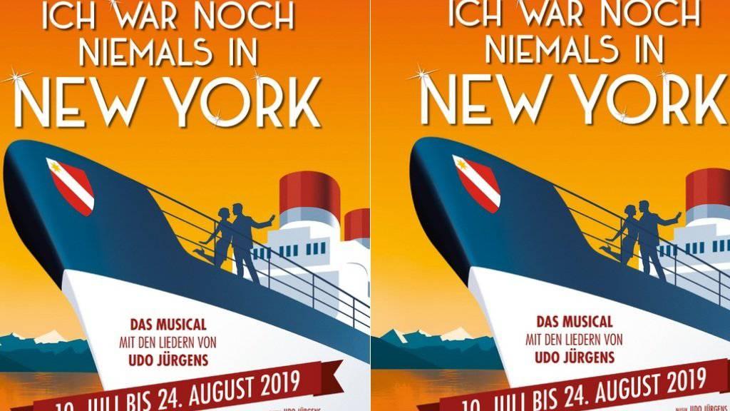 Die Thunerseespiele bringen nächstes Jahr das Udo-Jürgens-Musical «Ich war noch niemals in New York». Es ist die erste Openair-Aufführung des erfolgreichen Stücks.