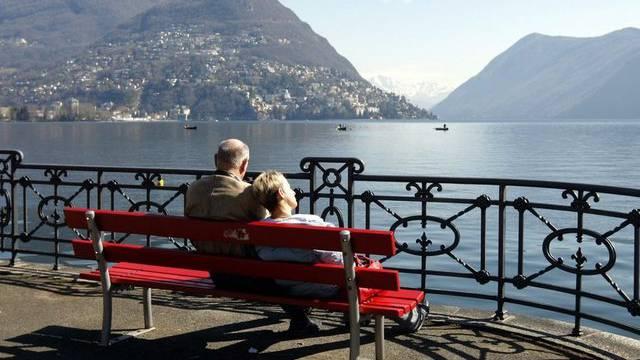 Auch in Lugano konnte man rund 100 Stunden zusätzlichen Sonnenschein geniessen (Archiv)
