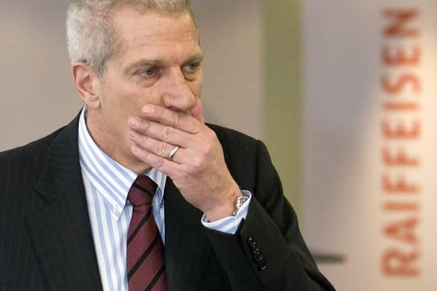 Trieb die Expansion, die in einem Millionenloch endete. Ex-Raiffeisen-Chef Pierin Vincenz.