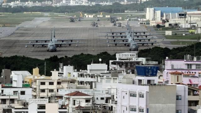 US-Stützpunkt Futenma auf Okinawa