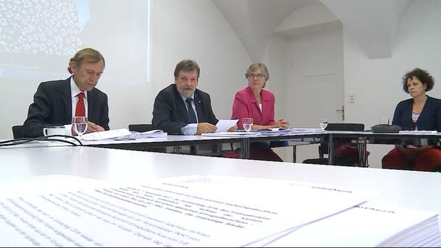 Solothurner Regierung mit gesundem Finanzhaushalt