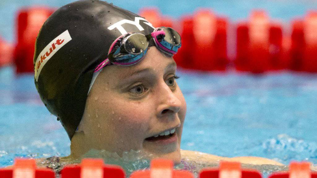 Martina van Berkel zählt zu den stärksten Schweizer Schwimmerinnen