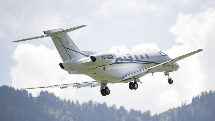 Ein Business-Jet des Typs PC-24.
