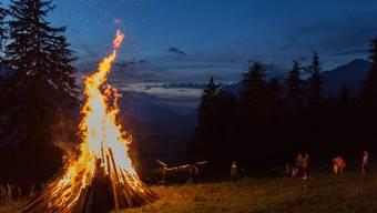 Im Baselbiet werden dieser Tage Höhenfeuer gegen die Kantonsfusion entfacht. (Symbolbild)