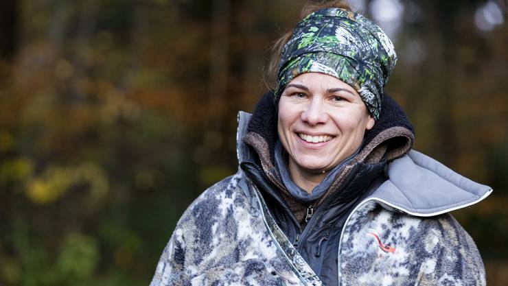 Jägerin Manuela Flubacher
