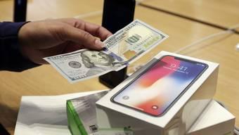 Das iPhone X hat dem US-Konzern einmal mehr Rekordzahlen beschert
