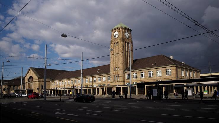 Badischer Bahnhof Basel: Hier reiste Burim K. mit Sondergenehmigung ein.