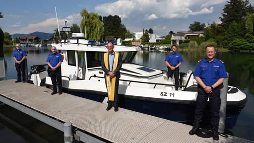 Neues Polizeiboot für die Kantonspolizei Schwyz
