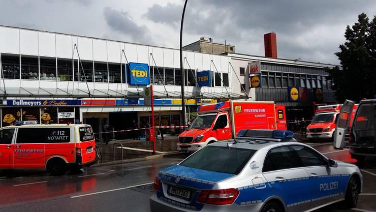 Hier in einem Edeka-Supermarkt in Hamburg geschah der Angriff