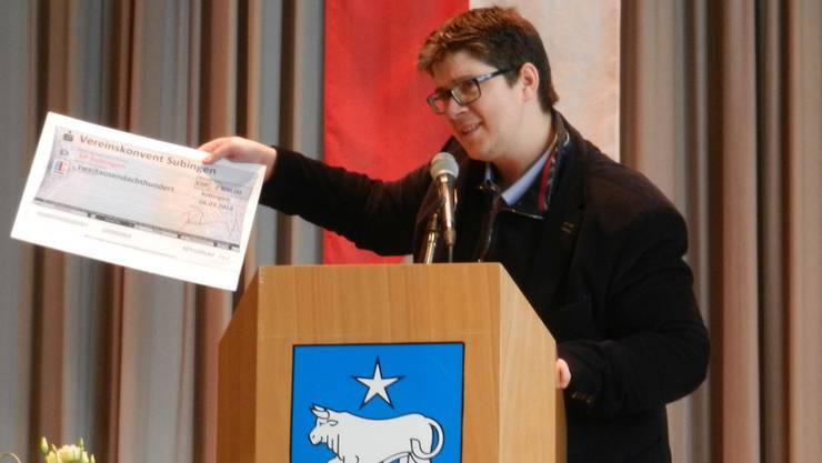Michael Kummli wurde von der FDP Subingen nominiert. (Archivbild)