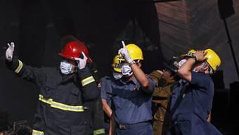Rettungsarbeiten mussten wegen Einsturzgefahr abgebrochen werden
