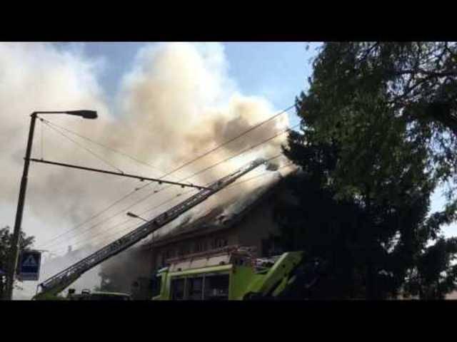 Brand am Oberen Deutweg in Winterthur (RADIO TOP)