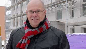 Der Gemeindeammann von Neuenhof, Walter Benz, wird verabschiedet