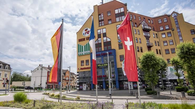 Ruhe vor dem Sturm? Das Rheincenter war gestern Donnerstag wegen Fronleichnam geschlossen.
