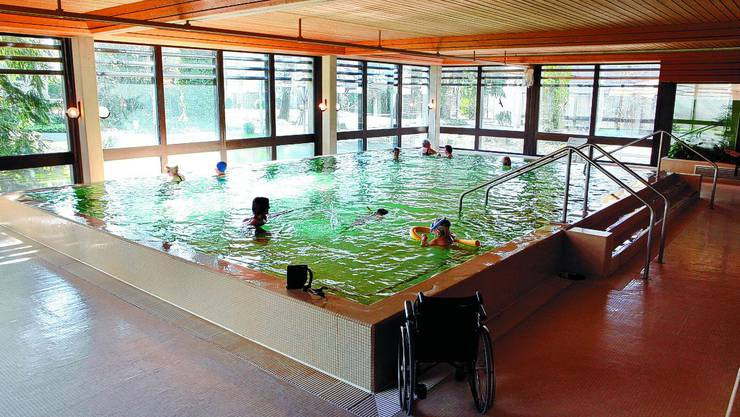 Therapiebad im Lindenhof: Mittlerweile geschlossen, beschäftigt sich am 26. Oktober noch der Stadtrat damit. (Archiv/Hanspeter Bärtschi)