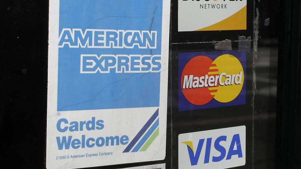Kreditkarten-Riese American Express steigert Gewinn kräftig