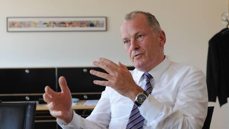 Stephan Attiger will in den urbanen Regionen – dazu gehört auch der Bezirk Zofingen – den Fuss- und Veloverkehr fördern.