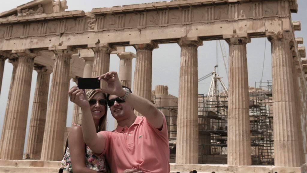 Der Parthenon auf der Athener Akropolis ist der Tempel der Stadtgöttin Pallas Athena und eines der berühmtesten noch existierenden Baudenkmäler des antiken Griechenland.