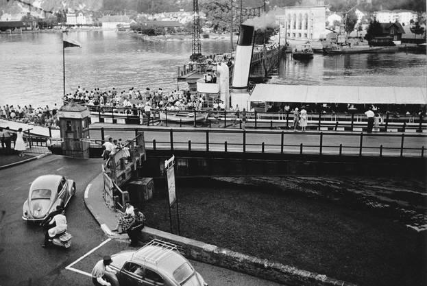 Die alte Achereggbrücke in Stansstad.