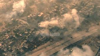 Das hollywoodreife Kriegsvideo aus Russland. Es ist im Auftrag der staatlichen Medienholding VGTRK entstanden.