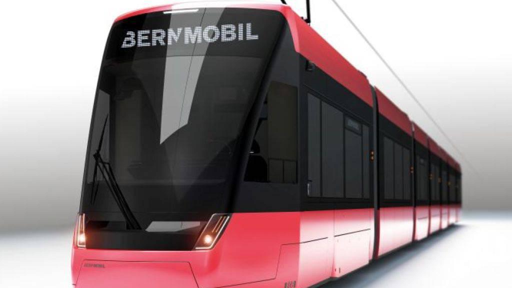 Stadler baut 27 neue Trams für Bern