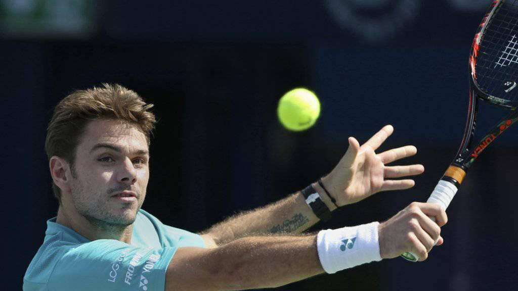 Stan Wawrinka bekundet in Dubai Probleme mit dem Timing