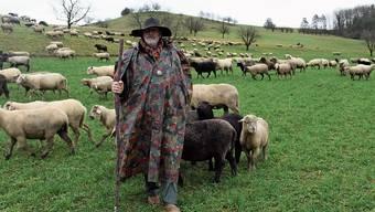 «Während viele Menschen gegeneinander die Ellbogen ausfahren, sind Schafe sehr soziale Wesen», sagt Hans van der Graaff.