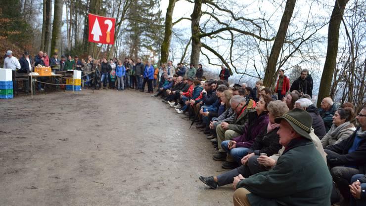 Die Neubürgerfeier ist eine Zeremonie mit Tradition.