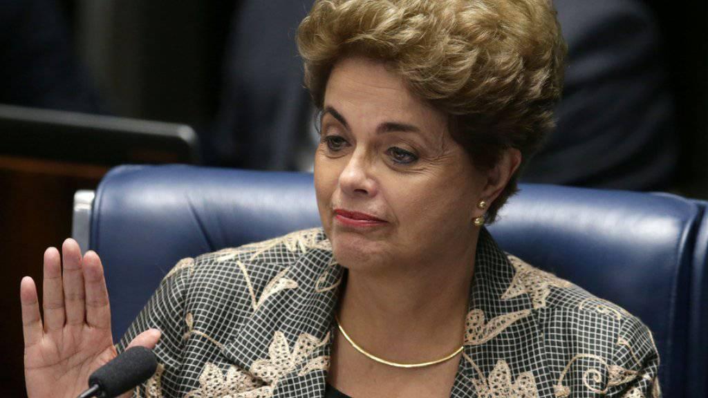 Dilma Rousseff ist ihres Amtes enthoben.