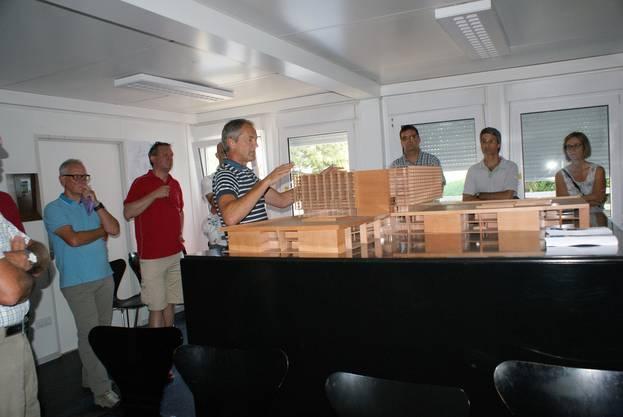 Erklärungen zum Modell von Urs Studer, Leiter Infrastruktur