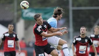 Der Holländer Mart Lieder schoss für den FC Aarau in der Hinrunde nur ein Tor.