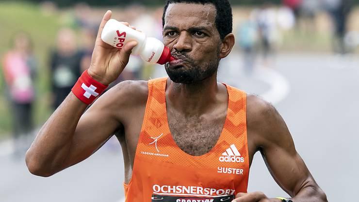 Abraham Tadesse läuft am Marathon in Wien die zweitbeste Zeit seiner Karriere