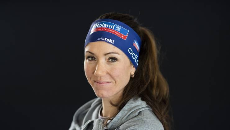Startläuferin Selina Gasparin.